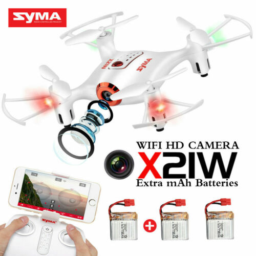 Syma X21W RC Quadcopter Drone FPV WIFI Camera Altitude Hold Remote Control Toy