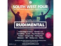 Saturday South West Four Ticket