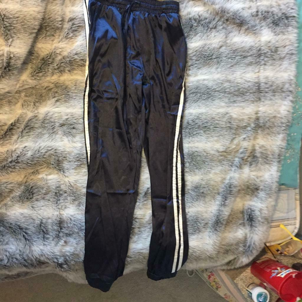 Side Striped Satin Trainer Joggers  b36dc578870