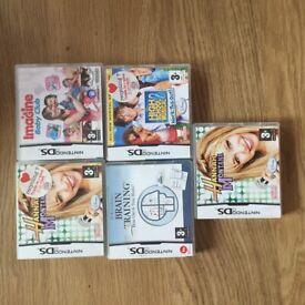 Nintendo DS games x5