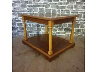 Solid Wood Vintage Coffee Table