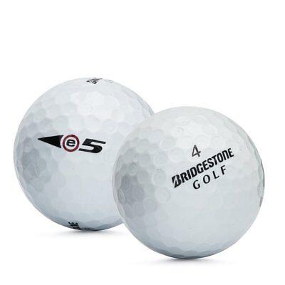 24 Bridgestone e5 AAA Used Golf Balls (3A) - Good Quality
