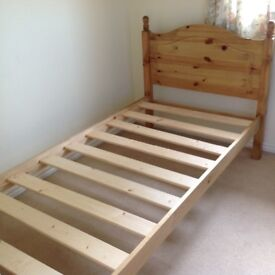 Single Beds with or without mattress