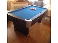 6 foot Riley pool table