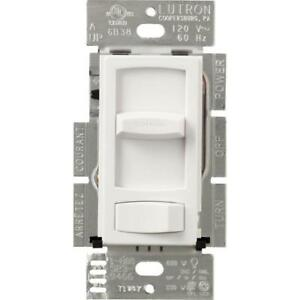 Lutron Skylark Contour Single Pole/3-Way dimmable CFL & LED Dimmer