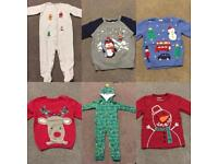 Christmas clothes, all 1.5-2 years (18-24m), £5 each