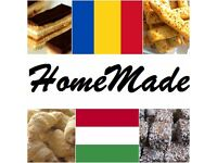 Romanian & Hungarian traditional HomeMade cakes, cookies, crackers
