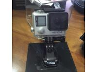 GoPro 4 Silver + G4S gimbal + 2 extra battery + car charger + underwater special lens