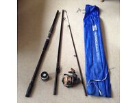 Shakespeare Mustang Beachcaster rod with Ryobi reel