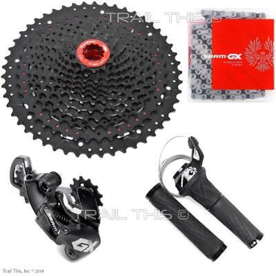SRAM GX Eagle 12-Speed Group with SUNRACE Cassette Derailleur Grip Shifter Chain