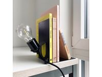 Frama Library Lamp Bulb Shelf Industrial bookstand