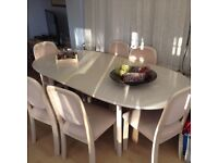 CHRISTMAS DINING TABLE & 6 CHAIRS🎄🎄🎄🎄