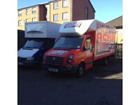 3 MAN&VAN GLASGOW LONDON NATION WIDE,HOME OFFICE REMOVALS COMMERCIAL FRIDGE DELIVERY 7 DAY SAME DAY