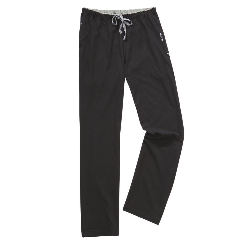 CITO - Night & Home - Herren Schlafanzug Hose lang Baumwolle von ESGE