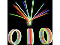 8 Glow Sticks Necklaces Party Favors Neon Color