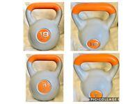 18KG 14KG 10KG 8KG 6KG Kettlebells Free Weights dumbbell weightlifting workout gym exercise training