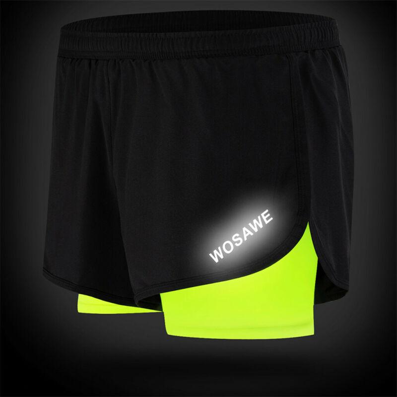Mens Shorts Jogger Summer Jogging Gym Short Pants Running Shorts With Inner