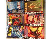 12 Marvel & DC Graphic Novels - Excellent Condition