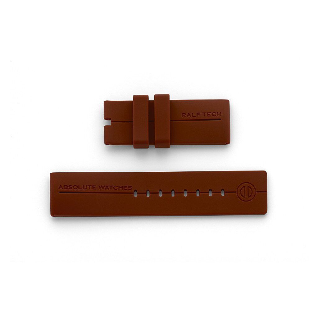 RALF TECH BRAND NEW Genuine Silicone Brown Strap for WRX/ WRV models