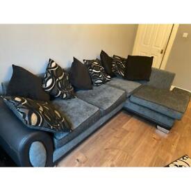 Large left corner sofa DFS