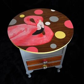 Unusual, funky, one-off hand painted unit