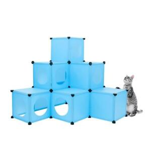 NEW Cat Condo / XL Modular 109 Piece Cat Condo / Cat House / Cat Tree Kit / Build Your Own Fully Customizabl