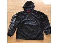 Supreme Checkered Pullover Jacket