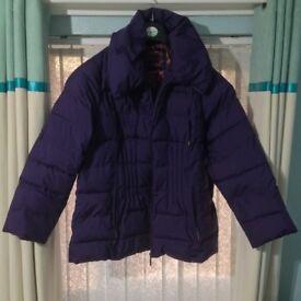 Per Una Padded Purple Jacket - XL