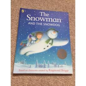The snowman and the snow dog book with CD
