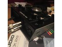 M audio 2x2 audio interface