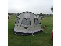 Trout lake canvas tent