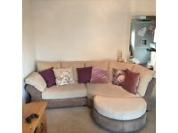 3 seater sofa chaise and 2seater sofa for sale free delivery Glasgow and Edinburgh