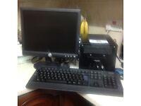 COMPUTER MINI SHUTTLE INTEL CORE 2, 2.6GHZ, 160GB WINDOWS 7 15INCH TFT SCREEN KEYBOARD MOUSE