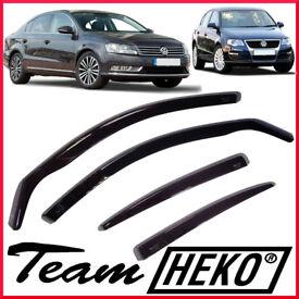 HEKO Wind Deflectors for Vw Volkswagen PASSAT B6 B7 2005-2014 Saloon 5-doors