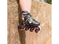 Osprey Boys Inline Skates - Adjustable Roller Skates size 1-4 (33-37)