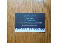 Local Piano Teacher in Goldington, Bedford