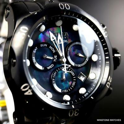 Invicta Reserve Venom Black MOP Stainless Steel Swiss Mvt Chronograph 53mm Watch