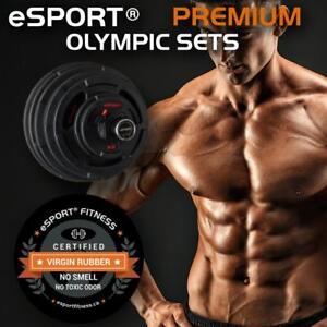 NEW eSPORT 400 LB PREMIUM SUPER OLYMPIC SETS VIRGIN RUBBER