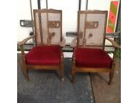 2arm chairs