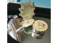 Vintage boudoir/vanity set