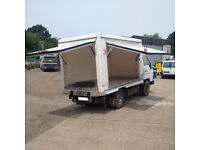 Left hand drive Toyota Dyna 150 2.8 diesel 3.5 Ton Isothermic / Cold Room box lorry. MOT.
