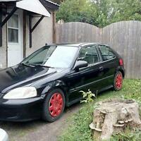 99 Honda civic DX 1000$ or trade