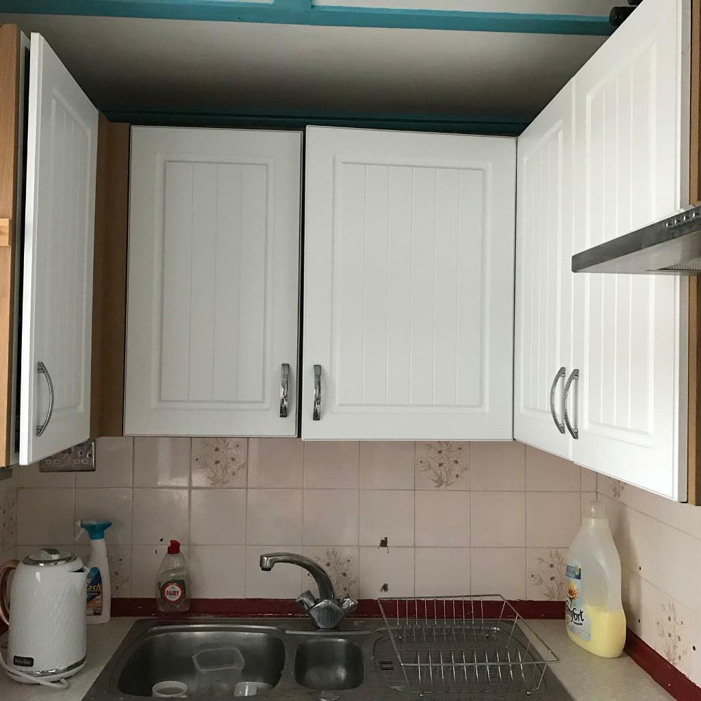 White Kitchen Cupboard Doors from B&Q | in Carshalton, London | Gumtree