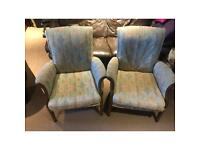 Pair of Parker Knoll chairs