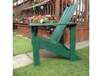 Adirondak Chairs. 2 available, £40 each