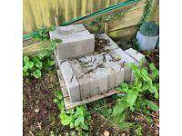 20 x Concrete Blocks