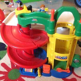 Fisher Price Little People garage