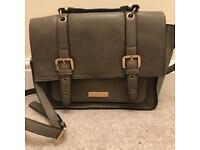 Carvella - Kurt Geiger grey satchel bag