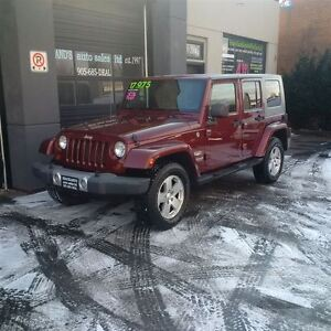 2008 Jeep Wrangler Unlimited Sahara 4WD, TWO TOPS, GREAT CONDITI