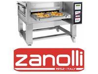 Zanolli 26 inch conveyor pizza oven NEW